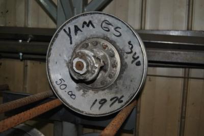 1976 yamaha gs 340cc secondary clutch $50.00