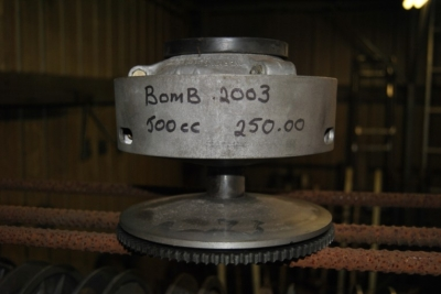 bombardier formula 2003 primary clutch, for electric start 500cc models. $250.00