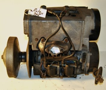 Rotax 248 fan cooled with point ignition,120 psi compression  $350.00