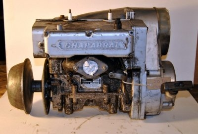 Chapparal 292cc all you need is a carb, great shape $350.00