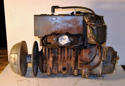 Kohler 435cc engine model K440 AMS, spec #442405. sold with clutch and point ignition. $350.00