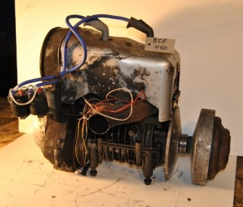 BSE 440 motor, unchecked $200.00