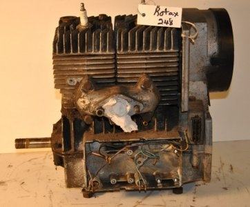 Rotax 248 missing cover and coils  $200.00