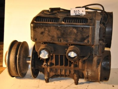 Rotax 503 points ignition, 110psi compression sold with clutch $450.00. Image 1/2