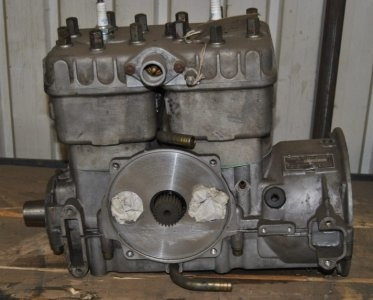 Rotax 470 bored oversize, new crank uses your old carbs and stator plate. $500.00. Image 1/2