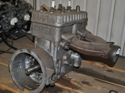 Rotax 470 bored oversize, new crank uses your old carbs and stator plate. $500.00. Image 2/2