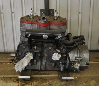 2001 Polaris 700cc new piston and oil pump,waterpump drive belt, excelent condition $750.00. Image 1/2